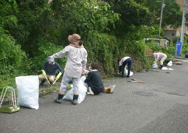 "<span class=""title"">法人施設周辺の水路清掃を行いました。</span>"